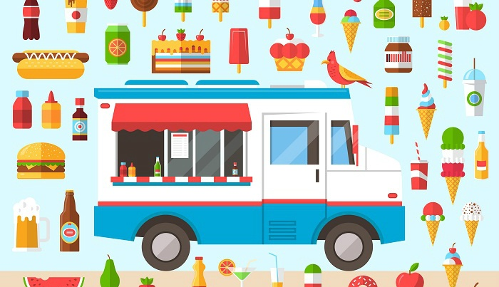Food truck Brisk Fridge Truck rentals blog