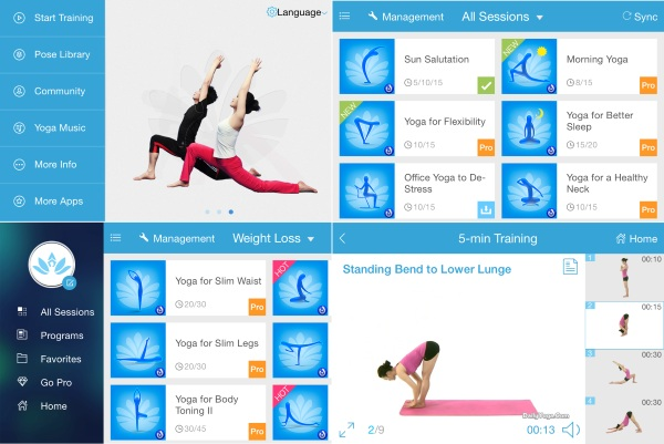 fitness apps daily yoga