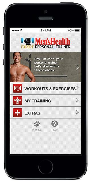fitness apps mens health