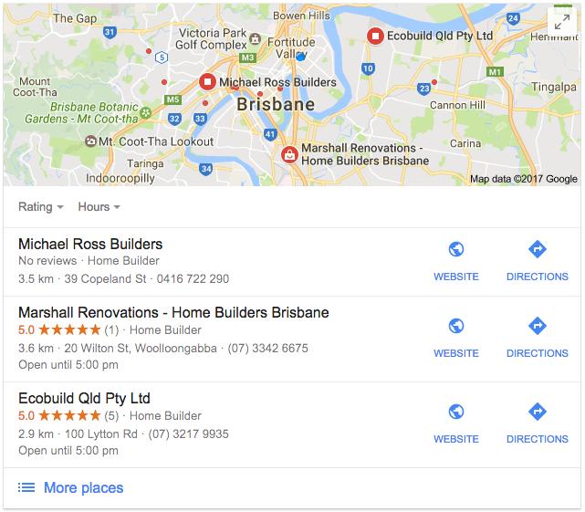 seo local search results