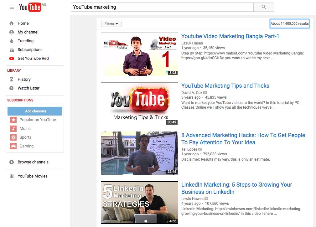 youtube increasing watch time