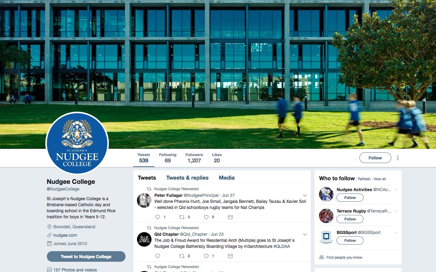 brisbane top 5 schools social media