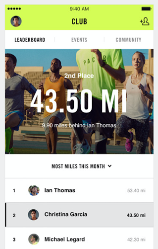 fitness apps nike+ run club