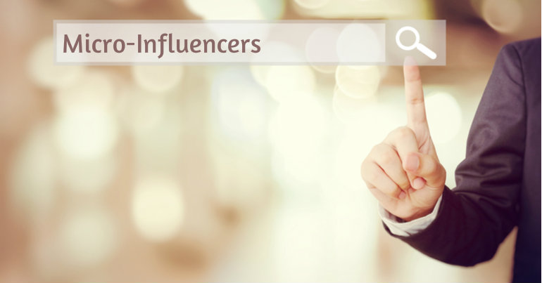 Using keyword searches to find micro-influencers to promote your business