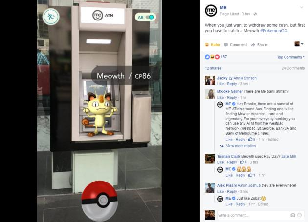 ME bank pokemon go
