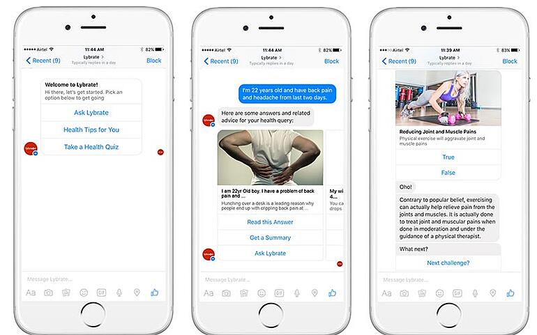 businesses utilise facebook messenger bots
