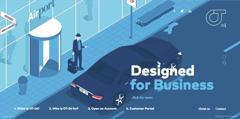 website design illustrations