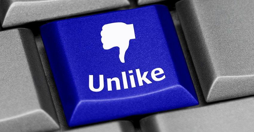 Facebook Unlike Button
